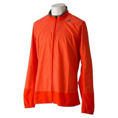 ◆即納◆アディダス(adidas) M ADISN リフレクト ストーム ジャケット DCT45 M62395 ボールドORG 【ランニングウェア ジョギング トレーニング メンズ ジャージ】の画像