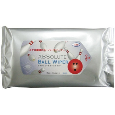 ABS(アメリカン ボウリング サービス) アブソリュート ボールワイパー(ABSOLUTE BALL WIPER) 1ケース/24袋 1袋/10枚入り 【ボウリング 小物 アクセサリー ボーリング】の画像