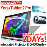 [Super Event!] Lenovo Yoga Tablet 2 Pro Wifi [32G]/ projector / jbl 2.1ch dolby / ips 2650x1440