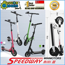 ★SG Seller!★New Speedway3 Mini /Passion8 /LTA Friendly /Goboard  Electric Scooter Foldable 8 inch wheel go-board|10.5ah//18.2ah | 35km/55km | Electric Bike Bicycle | E-Scooter| sw3