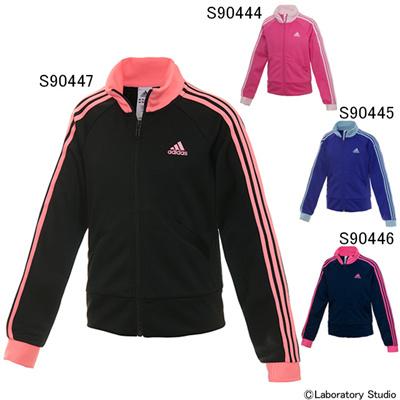 アディダス (adidas) GIRLS adidasjewel ジャージ ジャケット KAU26 [分類:ジャージ 上 (ジュニア)]の画像