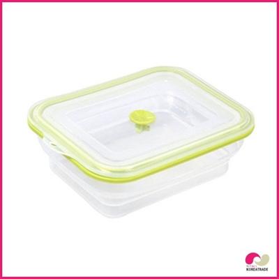 【日用品】 chaeum silicone foodシリコンフードタッパ(M)HKS-502の画像
