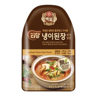 『白雪』タダムナズナ味噌チゲの素(140g・3~4人前)[韓国調味料][韓国料理][韓国食材][韓国食品]の画像