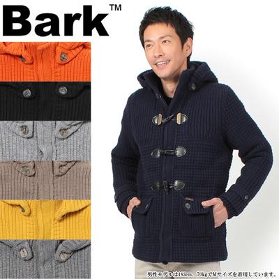 バーク ショート ニット ダッフル コート BARK MS COAT 42B8010 メンズの画像