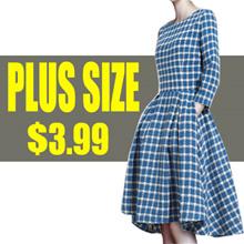 【Oct 18th Update】QXPRESS 2017 NEW PLUS SIZE FASHION LADY DRESS dress blouse TOP PANTS