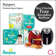 [PnG] BUY 3 CARTON GET MAYER 3.2L AIR FRYER WORTH $199! Baby Dry Diapers/Premium Care Pants/Tape