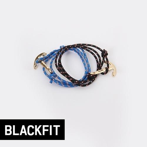 【クリックで詳細表示】anchor knot bracelet (2-colors)