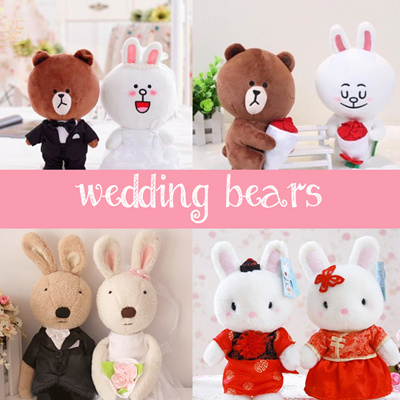 Wedding Gifts For Couples In Singapore : Qoo10[WEDDING] GIFT / Wedding Bears / Plush Toy / Couple BDolls ...