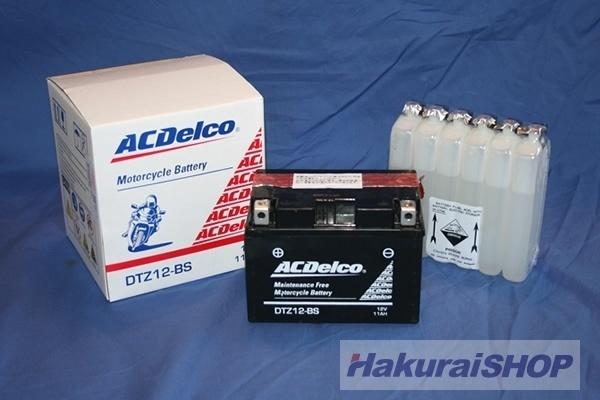 【クリックで詳細表示】[ACDELCO]ACデルコ バイク用バッテリー 品番DTZ7-BS