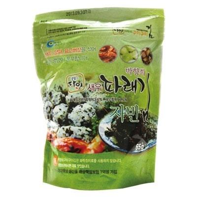 『パクヒャンヒ』エビ入りジャバンのり|味付けのりふりかけ(65g)[岩海苔][韓国のり][韓国海苔][韓国料理][韓国食材][韓国食品]の画像