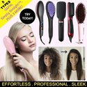 1DAY PROMO! 😏STRAIGHT HAIR IN A FEW BRUSHES😏 *DAFNI /Simply Straight™ /2 in 1 Ionic Straightener  /Ceramic Comb Straightener /Magic Hair Brush Straightener / Affordable to Luxurious Straighteners