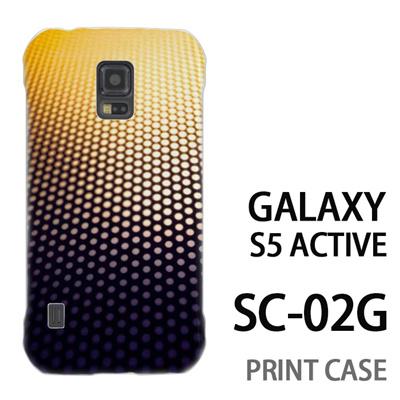 GALAXY S5 Active SC-02G 用『No4 ドットグラデーション』特殊印刷ケース【 galaxy s5 active SC-02G sc02g SC02G galaxys5 ギャラクシー ギャラクシーs5 アクティブ docomo ケース プリント カバー スマホケース スマホカバー】の画像