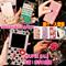 【先着特価!!】付香水 ボトル型/iphone6 ケース 手帳型 财布 /iphone7 ケース/iphone6 5.5 ケース/あいふぉん7ケース/iphone7ケースGALAXY iphone7 plus フチを彩るゴージャスなビジュー手帳型ケースチェービジュー/ラインストーン