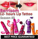 ★BERRISOM★1-2 DAYS SHIPPING★100%GENUINE★ Lip Tint Pack ★JAN 2015 Manufactured★LOWEST PRICE/6 COLOURS/LIP TATTOO /LIP TINT/Made in Korea