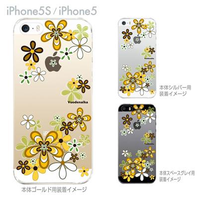 【iPhone5S】【iPhone5】【Vuodenaika】【iPhone5ケース】【カバー】【スマホケース】【クリアケース】【フラワー】 21-ip5s-ne0044の画像