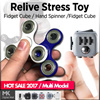 HOT SALE 2017 New  Tri-Spinner Fidget Toy Plastic EDC Hand Spinner ★Relive Stress Toy★  Multi Model