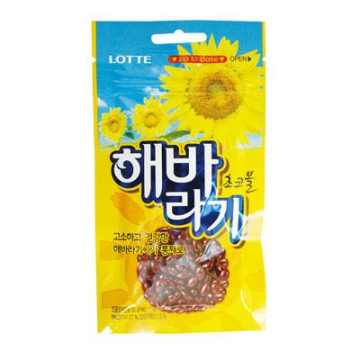 『LOTTE』チョコヘバラギ|ひまわり種チョコ(35g)[ロッテ][チョコレット][韓国お菓子][韓国食品]の画像