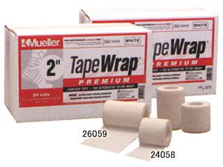 ミューラー (Mueller) テープラップ プレミアム自着テープ 76mm巾(1箱16個入) 26059 [分類:テーピング (伸縮・非粘着)] 送料無料の画像