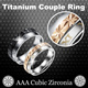 [Titanium Couple Ring] Over 120 Designs. Korean Style. FREE Shipping. New Arrivals!