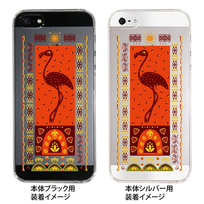 【iPhone5S】【iPhone5】【Clear Fashion】【iPhone5ケース】【カバー】【スマホケース】【クリアケース】【クリアーアーツ】【アフリカンヒーリング】 09-ip5-af0007の画像