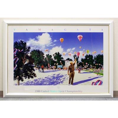 USオープン1980年(額入りアートポスター) ヒロ・ヤマガタ/山形博道の画像