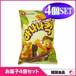 【韓国お菓子4個セット】【農心】バナナ-キック 4個セット snack 【YDKG-s】