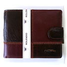 Free Shipping R3262 NEW BROWN Luxury Mens Wallet ID.Credit Card Coin Wallet