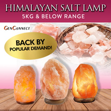 ⏰Local stock! HIMALAYAN PINK SALT LAMP!★HIMALAYAN SALT LAMP★Pakistan★ Dimmer★Health benefi