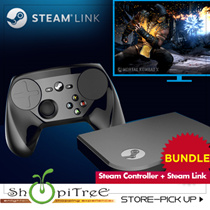 Steam Controller +  Steam Link Bundled! Connect to TV or Home Network w Steam Link / Experience New Lvl of Precise Control w Steam Controller to your entire Collectn of Steam Games! 12 Mths Warranty!|