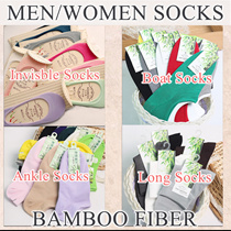 ♥buy7get1free♥Women Men socks bamboo fiber aloe fiber anti slip gel invisible socks loafer socks long socks ankle socks boat socks buy 7 get 1 free [ JLULA ]