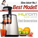 FEDEX SHIPPING 2014 HUROM 2nd Generation HH-SBF11 Premium Slow Juicer Smoothie Maker Fresh Fruit Juicer Full Package / NUC KUVINGS KJ-623S / NNJ-1415JM + 3 Gift