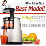 FEDEX SHIPPING 2014 HUROM 2nd Generation HH-SBF11 Premium Slow Juicer Smoothie Maker Fresh Fruit Juicer Full Package / NUC KUVINGS KJ-623S / NNJ-1415JM + 3 Gift
