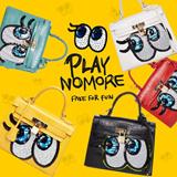 ★【Playnomore】★playnomore shygirl tote bag★【EMS FREE】★