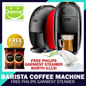 ◄ NESCAFE Barista ► GOLD BLEND Barista Auto Machine (Save 30%) Piano Black/Metal Red ★ + FREE 2x95g COFFEE TINS! ☆ Back by High Demand ☆