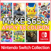 [Nintendo Switch] Nintendo Game BEST Collection ★ SUPER SMASH / POKEMON / SUPER MARIO / ZELDA