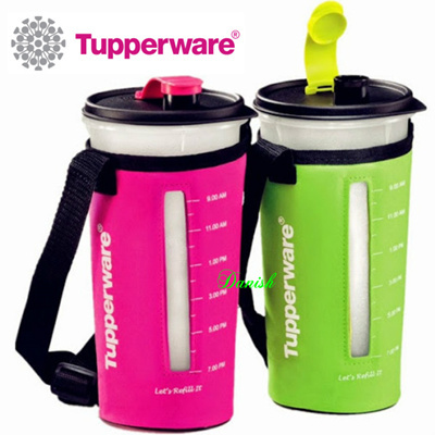 qoo10 tupperware tumbler with pouch 900ml 1 5l bpa free lifetime warranty kitchen dining. Black Bedroom Furniture Sets. Home Design Ideas