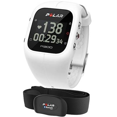 ポラール(polar) A300HR ハートレート ホワイト 心拍センサー付 国内正規品 90054234 【腕時計 活動量計 心拍計 アクティブトラッカー】の画像