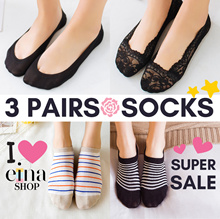 ⭐SUPER SALE+FREE SHIPPING AT $10 ⭐3 PAIRS SOCKS ⭐WOMEN / MEN⭐ANKLE / INVISIBLE ⭐HOT SELLER