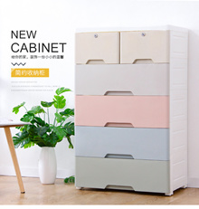 The Largest Plastic Drawer/Storage/Cabinet/Ecological Colourful Storage Box Container/Compartment
