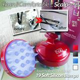 Silicon anion tourmaline Scalp Massage Shampoo Brush