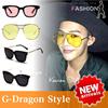 5月新作発売!!偏光サングラス 韓国人気 BigBang G-Dragon GD 着用・同型 サングラス/ニット帽/帽子/偏光サングラス/UV400 サングラス K-popアイドル韓国