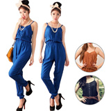 MUST-HAVE ! Button Up Cute Jumpsuit | 3 warna