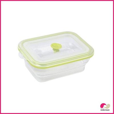 【日用品】 chaeum silicone food シリコンフードタッパ(S)HKS-501の画像