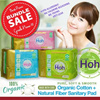 HOH ORGANIC SANITARY PAD ♥ TRIAL AVAIL NOW!! ♥ FROM S.KOREA ♥ ECO-CERT CERTIFIED ♥ ORGANIC COTTON ♥ GOOD FOR SENSITIVE SKIN ♥ PANTYLINER ♥ REGULAR ♥ ULTRA-THIN