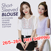 FREE SHIPPING new arrival everyday chiffon tops /blouse/ plus size/ off shoulder top/good quality