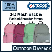 [OUTDOOR PRODUCTS] 496EXP New Generation Daypack. 3-D Mesh Back/Padded Shoulder straps with seam lock reinforcement! 4 colors available! FREE Shipping! Guaranteed 100% Authentic Local Seller