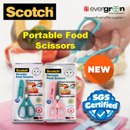 Scotch™ Portable Food Scissors - Baby / Toddler / Cutting / Weaning(PS-AB/PS-ABP)