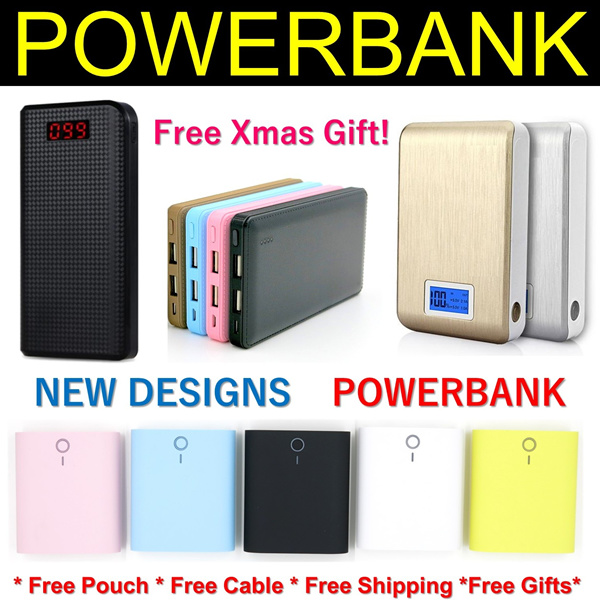 Powerbank Power bank Portable Charger Battery Anker Aukey Powerbank 50000 Lenovo Xiaomi Powerbank Deals for only S$59.9 instead of S$0