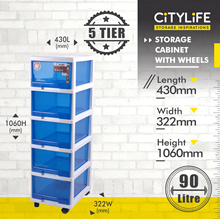 **CABINET SERIES**TOP SELLING ITEM G-5021/22 4/5-Tier