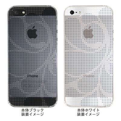 【iPhone5S】【iPhone5】【Clear Arts】【iPhone5Sケース】【iPhone5ケース】【ケース】【カバー】【スマホケース】【クリアケース】【チェック・ボーダー・ドット】【ドットレトロ】【グレー】 06-ip5-ca0051i-gの画像